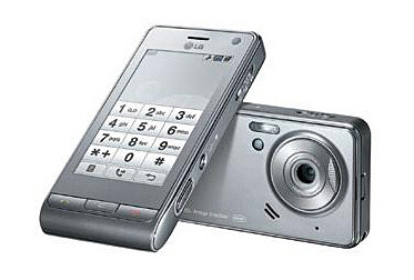 The LG Viewty gets more sophisticated in dark silver!