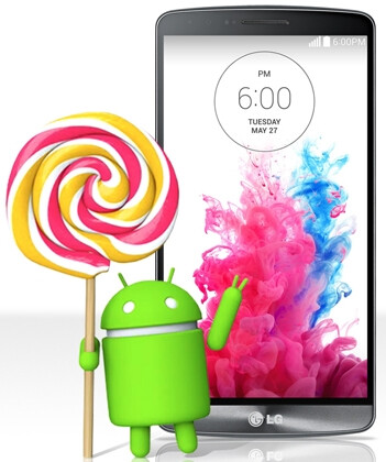 """LG beats Samsung and others to the punch, brings Android 5.0 Lollipop to the G3 """"this week"""""""