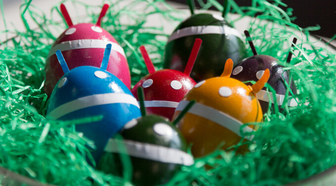 Did you know about the Easter eggs found in some of the more popular Android apps?