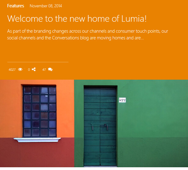 Microsoft is changing the name and addresses of Lumia's social media sites - Microsoft continues to replace Nokia in the Lumia eco-system