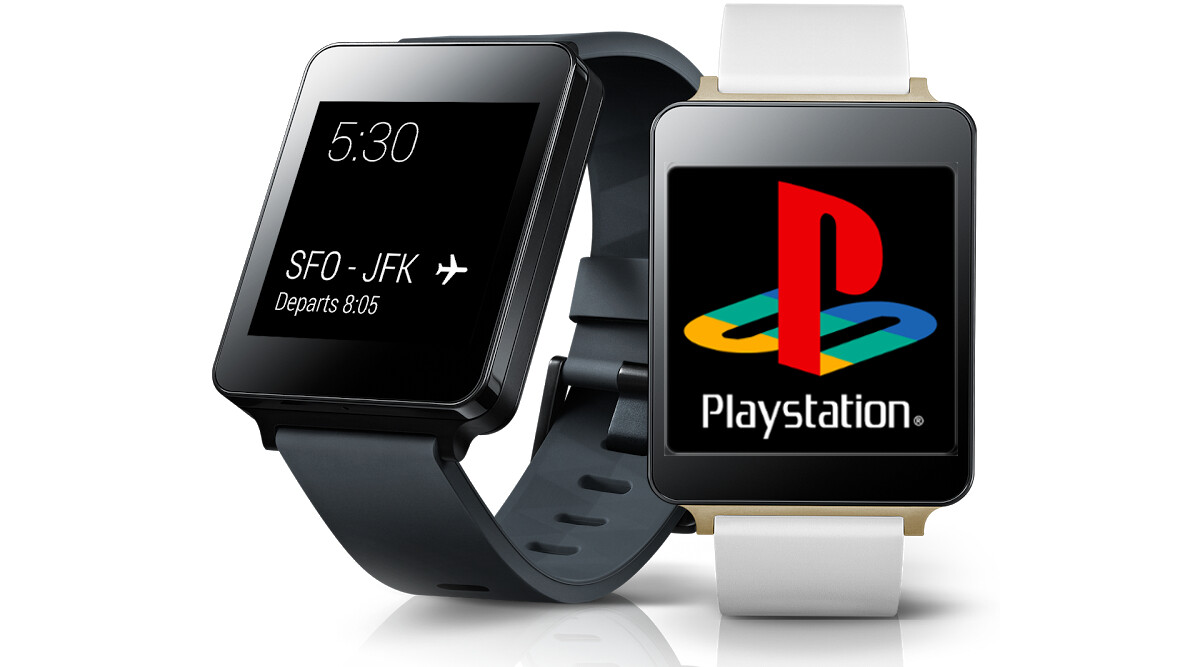 1st-gen PlayStation games running on an Android Wear ...