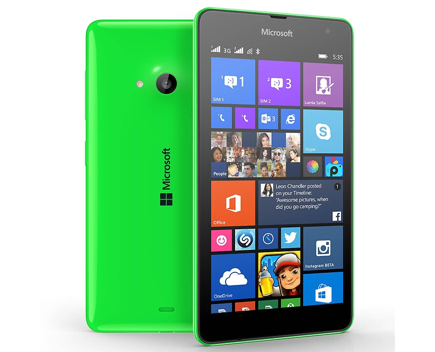 Nokia Lumia 535 Saturn: Microsoft Lumia 535 Officially Announced, Will Be Launched