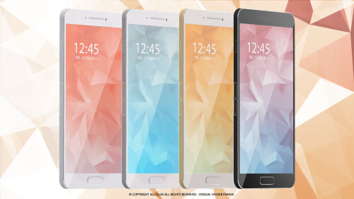 Samsung Galaxy S6 design concept