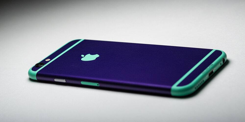 Tired of your iPhone's boring color? The guys at ColorWare would gladly  treat it to a new paint job, or sell you a brand new modified unit.