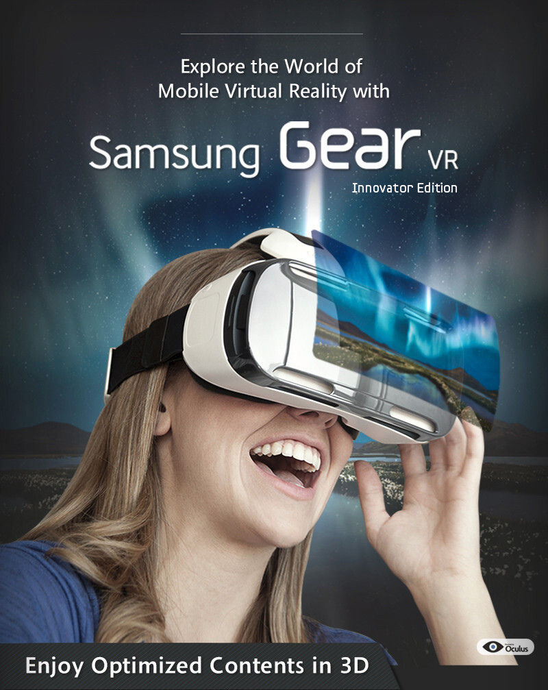 virtual reality brought to your home with samsung gear vr