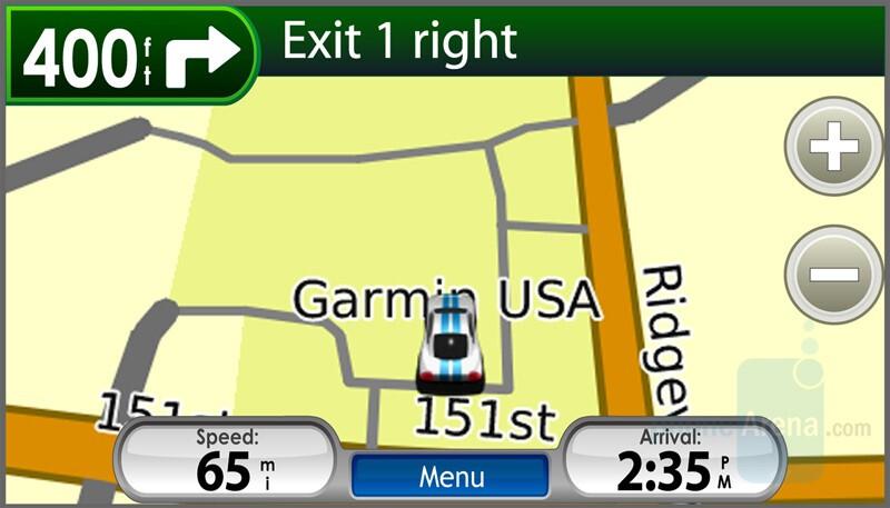 Garmin nuvifone – iPhone like GPS phone
