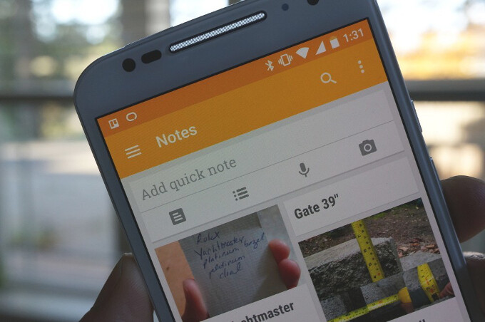 Google Keep joins the Material Design gang of Google apps