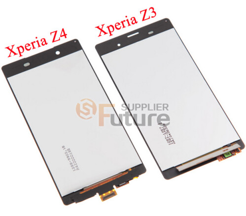 Leaked images of the Sony Xperia Z4 Touch Digitizer vs. the same part belonging to the Sony Xperia Z3