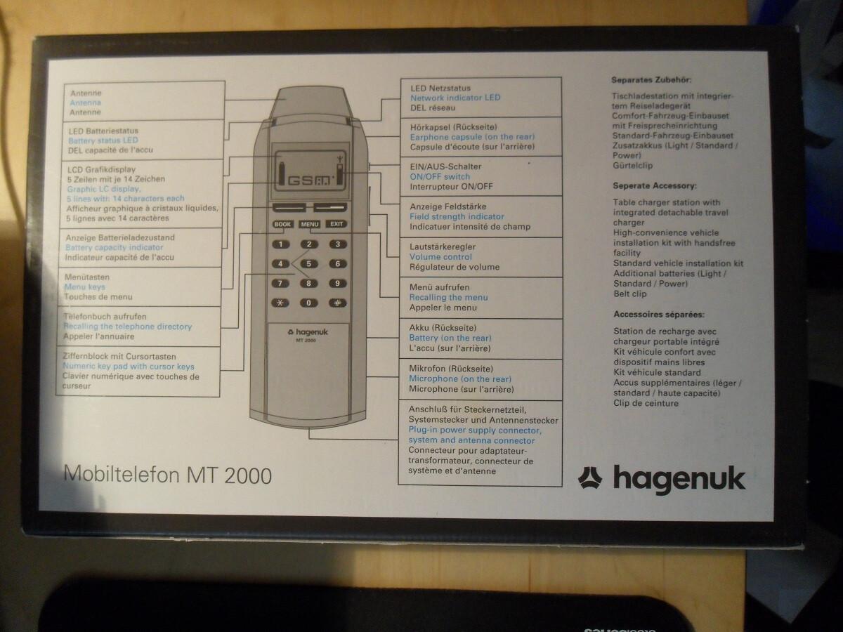 Sforum - Trang thông tin công nghệ mới nhất The-Hagenuk-MT-2000 Diện kiến điện thoại di động đầu tiên trên thế giới có khả năng chơi game