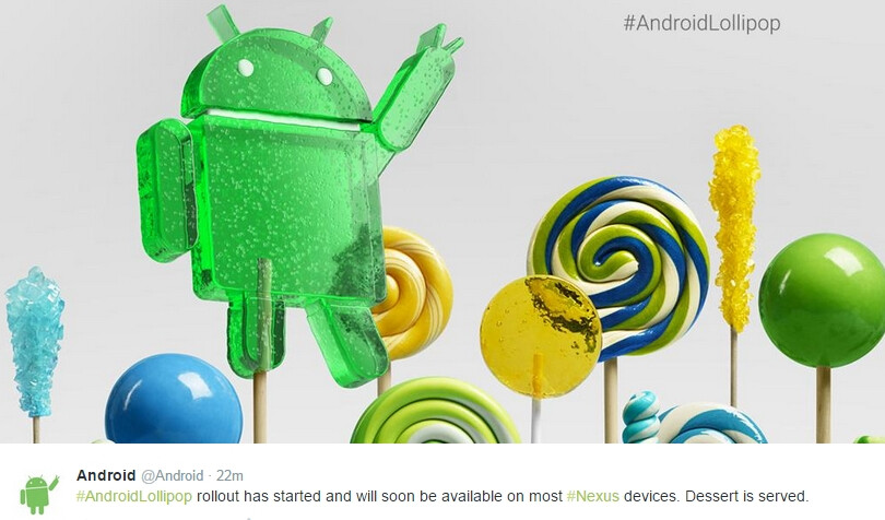 The Android 5.0 update rollout, Microsoft's Lumia 535, and ...