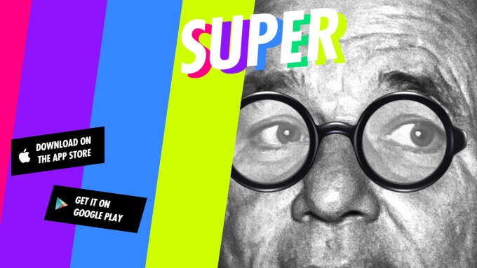 Super is a caption-powered social network from the creators of Jelly