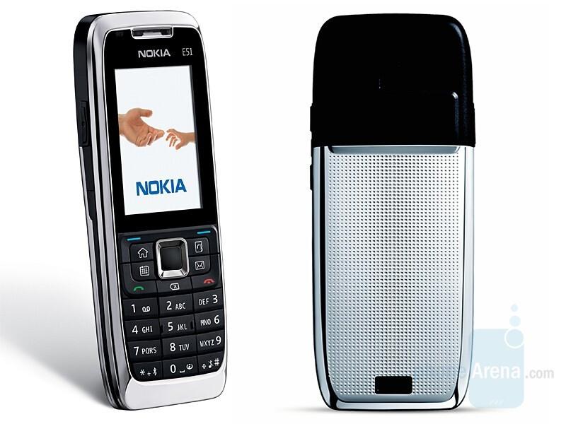 Nokia announced a camera-free E51