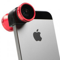 OlloClip makes snap-on lenses for current iPhones