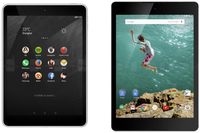 Nokia N1 vs Nexus 9: in-depth specs comparison