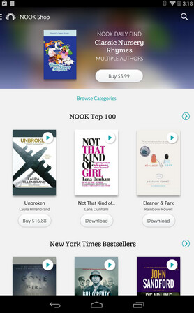 Listen to those books you don't have time to read using the Nook Audiobook app - Nook Audiobook app launches on Google Play Store