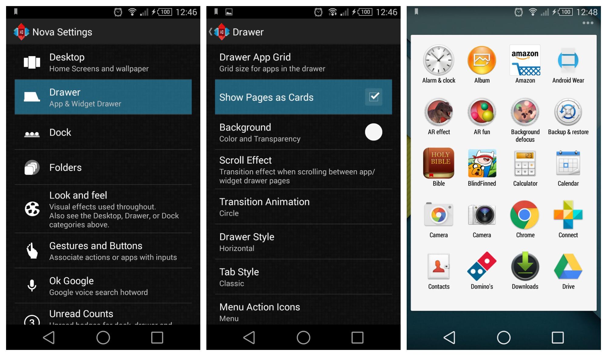 Newest Nova launcher beta intros a Lollipop-themed app