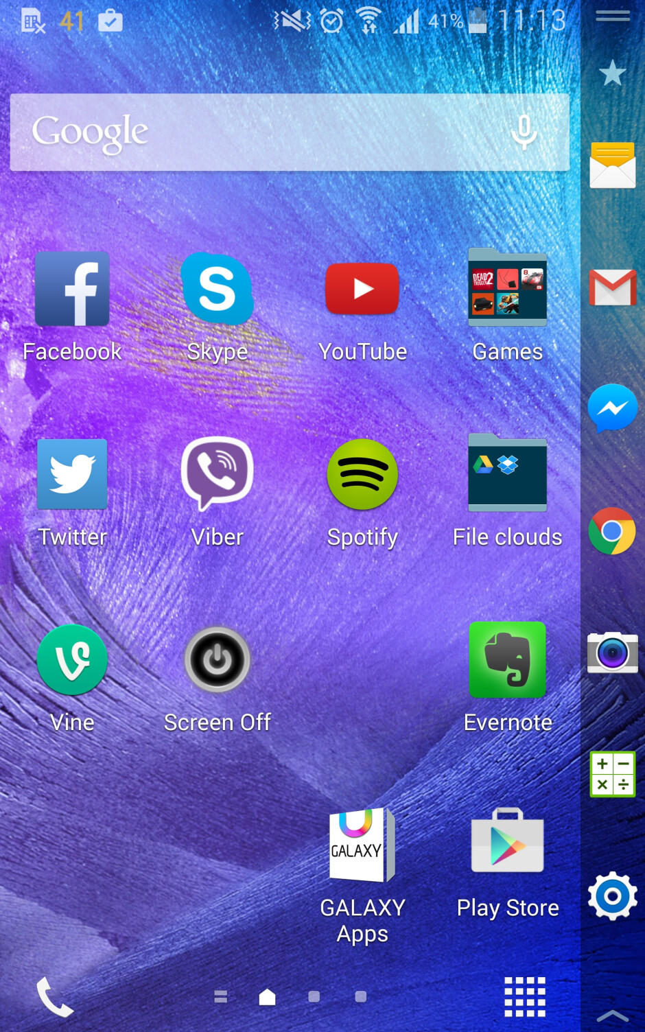 Power key too high? Here's how to comfortably switch off and lock the Samsung Galaxy Note Edge from its Edge display
