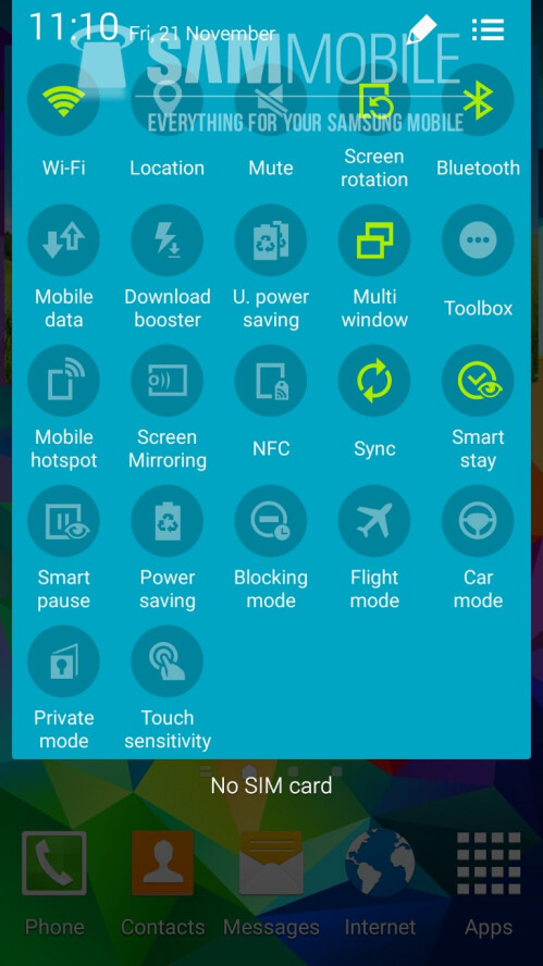 Android 5.0 Lollipop on Samsung's Galaxy S5: here's how it looks like