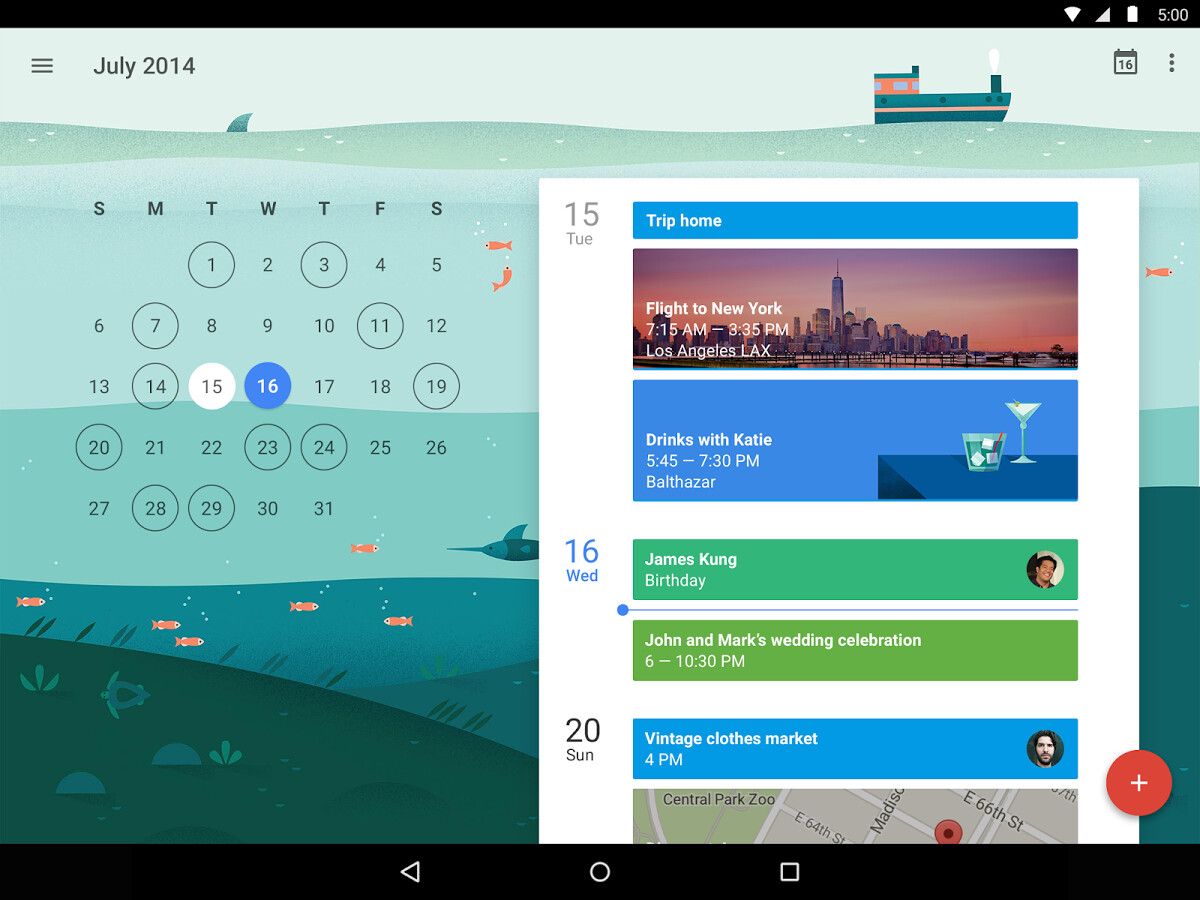 Best Android And Iphone Calendar Apps And Widgets 2015