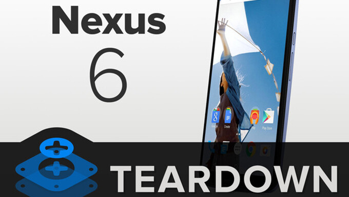 The Google Nexus 6 gets disassembled in a complete teardown, it's relatively easy to repair