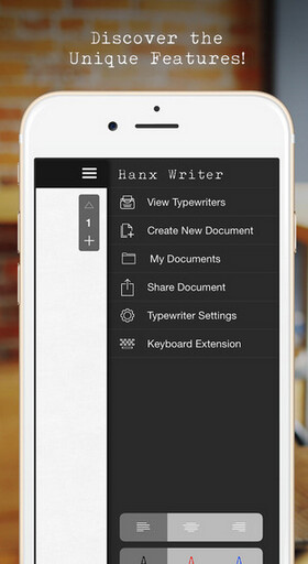 Hanx Writer now brings that old time typewriter look and sound to your iPhone - Hanx Writer now brings those old-style typing sounds to certain iPhone models following update