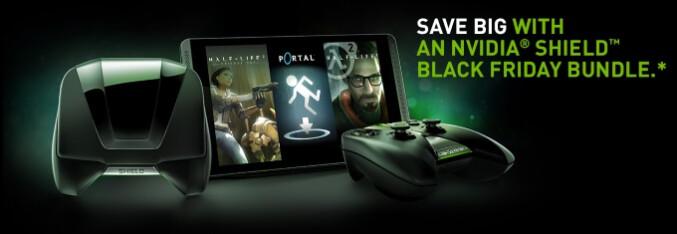 NVIDIA announces SHIELD tablet and portable console Black Friday bundles