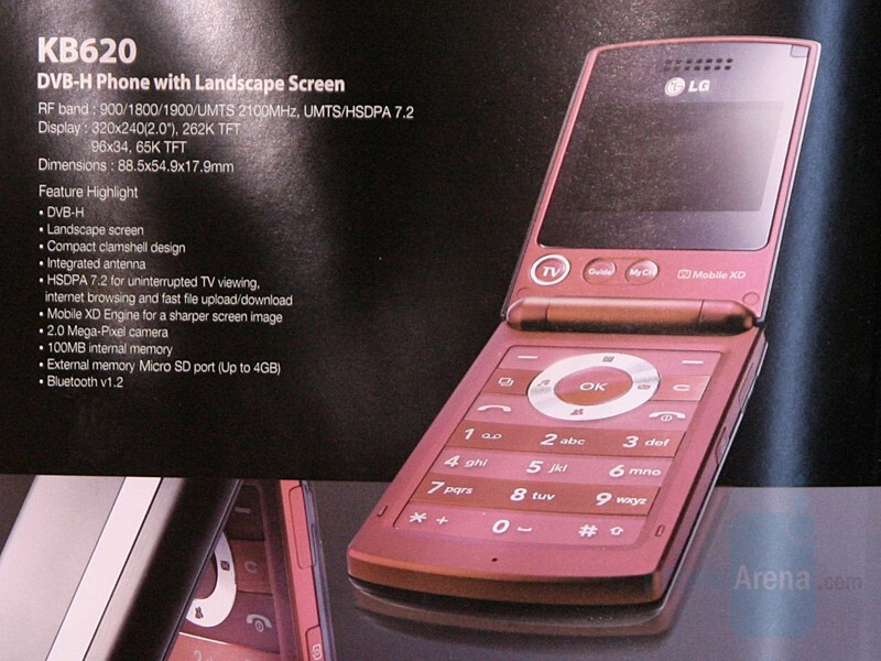 KB620 - A slew of new phones from LG