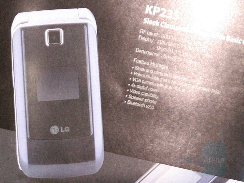 KP235 - A slew of new phones from LG