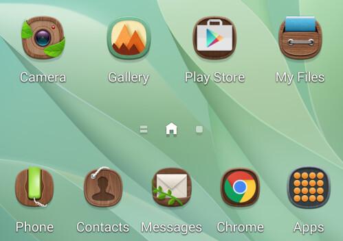 TouchWiz themes