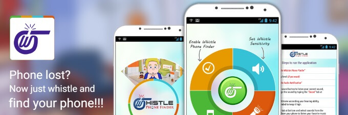Lost your precious Android phone in the park? Whistle Phone Finder will help you find it