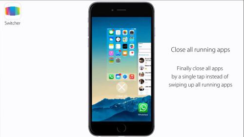 Close all running apps