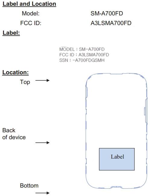 Samsung SM-A700 Galaxy A7