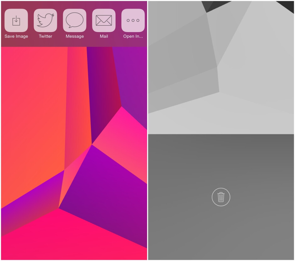 How to trick out your phone with some sweet custom polygonal wallpapers on Android and iOS