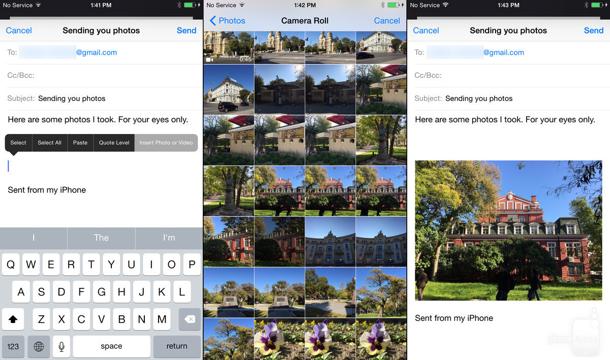 Attach Your Photos And Send