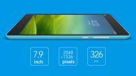 XiaomiMiPad7.9inch326PPINVIDIATegraK1QuadCore2.2GHz2GB16GB6700mAhTablet1400153065