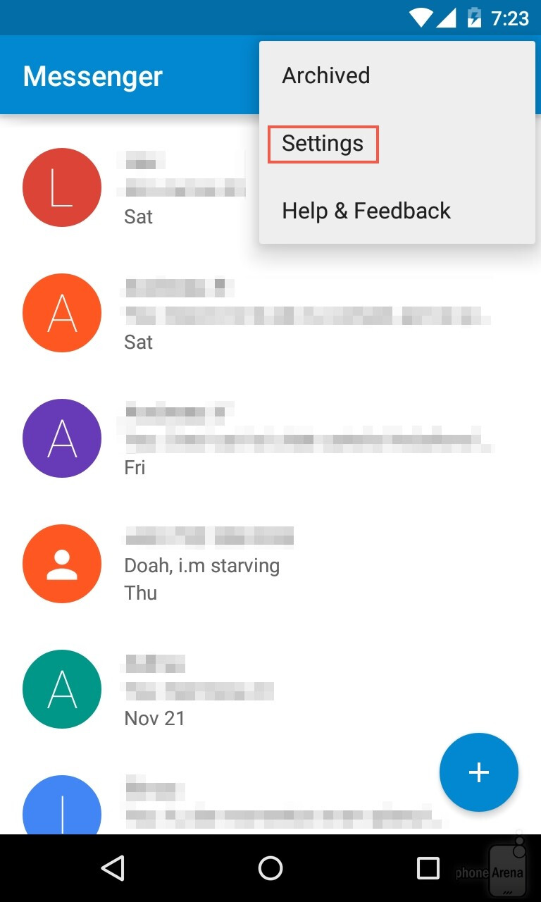 Android Apps On Google Play: How To Change The Default SMS App On Android 5.0 Lollipop