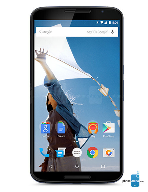 The 6-inch Google Nexus 6