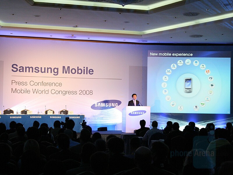 Samsung presented a slew of new phones