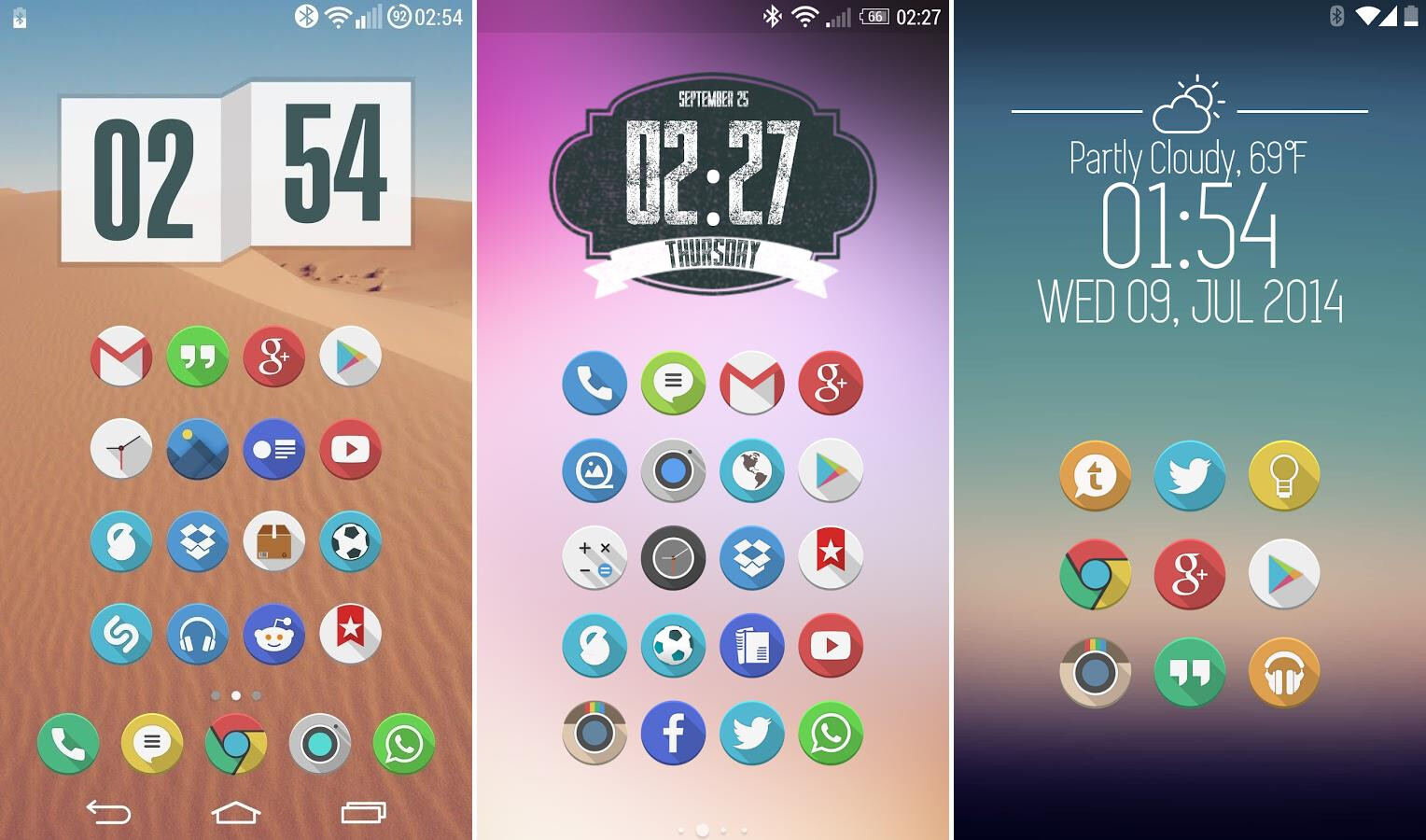 these 15 android icon packs will improve the looks of your homescreen