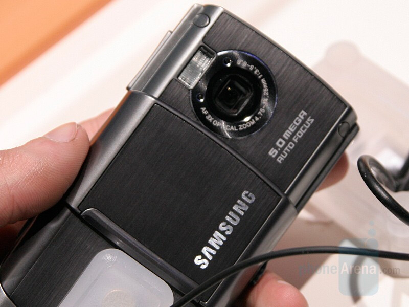 SGH-G810 - Samsung presented a slew of new phones