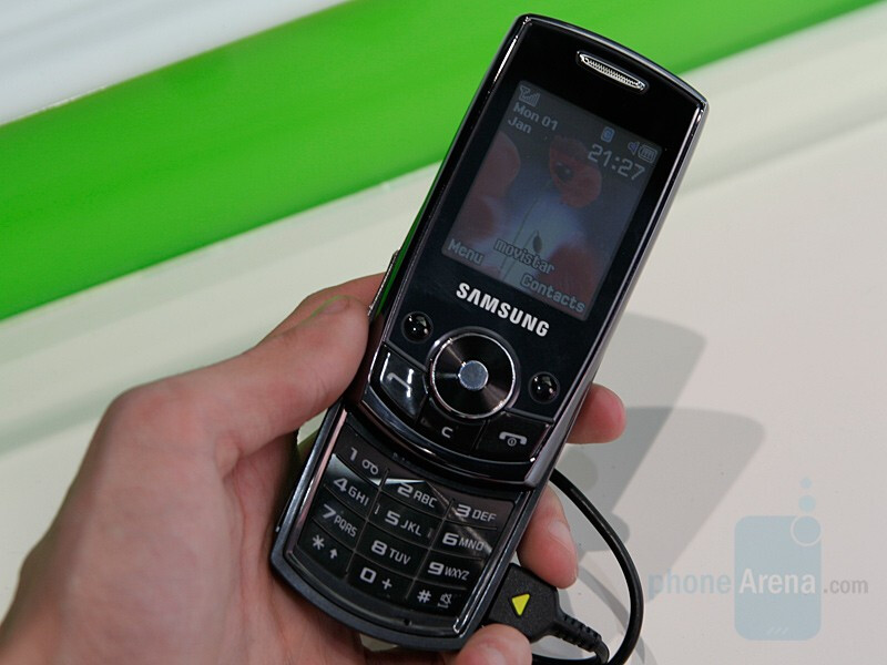 J700 - Samsung presented a slew of new phones