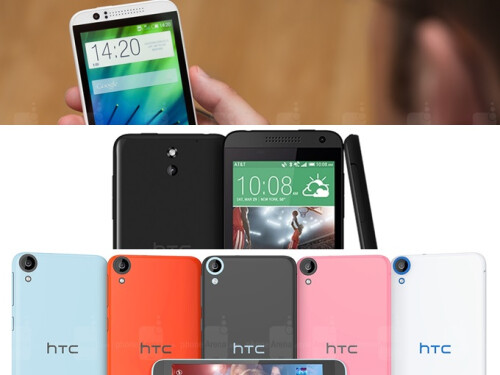 HTC Desire 510, 620, and 820