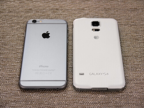 Apple iPhone 6 and Samsung Galaxy S5