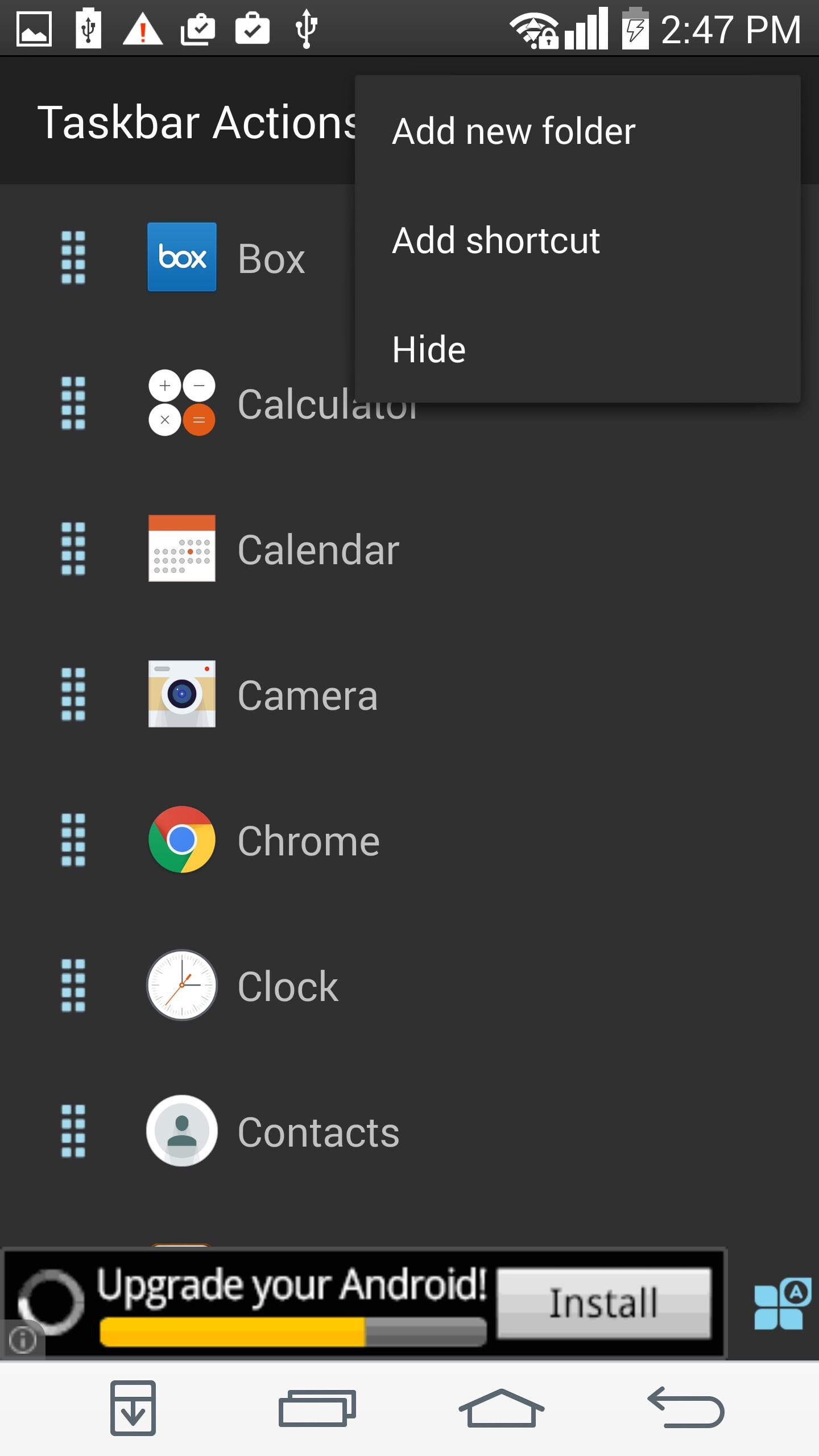 how to add google drive to menu bar on mac