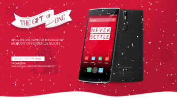OnePlus lets you buy yourself a OnePlus One for Christmas without an invite