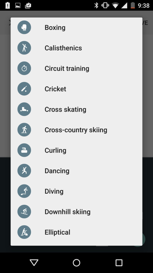 Google Fit app updated with better step detection and over 100 new activities