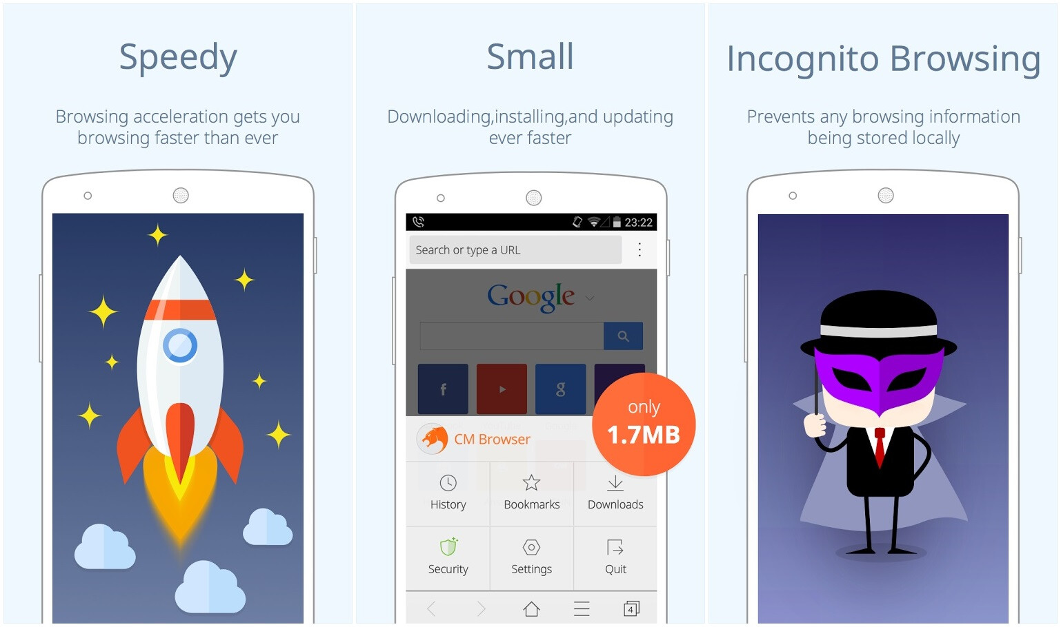 Phone Private Browsing Android Phone 5 secure browsers for android with always on incognito mode and automatic user data clearing