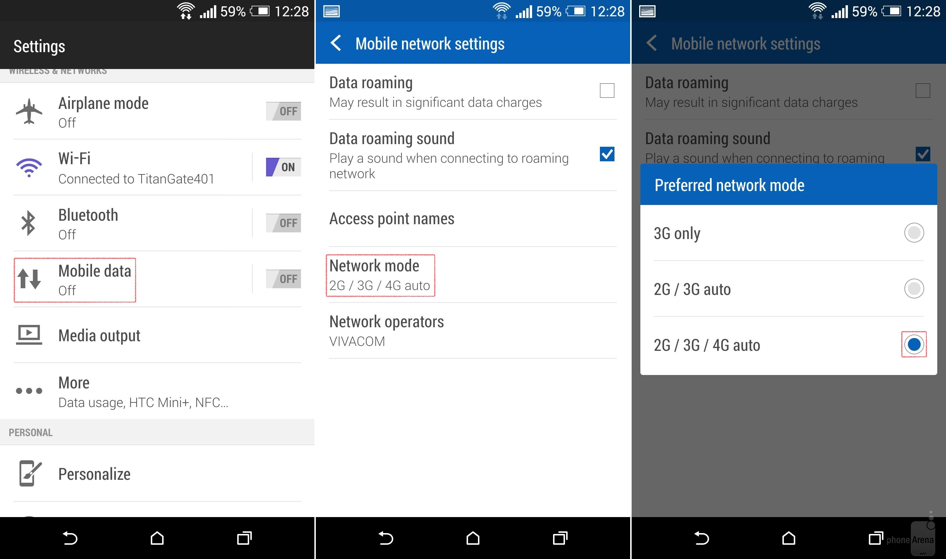 How To Turn 3g Or 4g Lte Off On Android In Order To Save