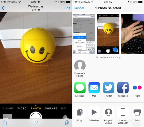 how to use airdrop on iphone 4