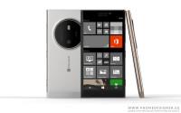 Concept, non-official renders of a Lumia 1020 successor